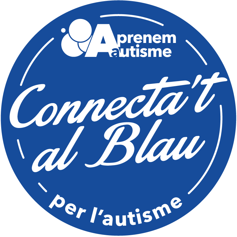 Logo Connecta't al Blau