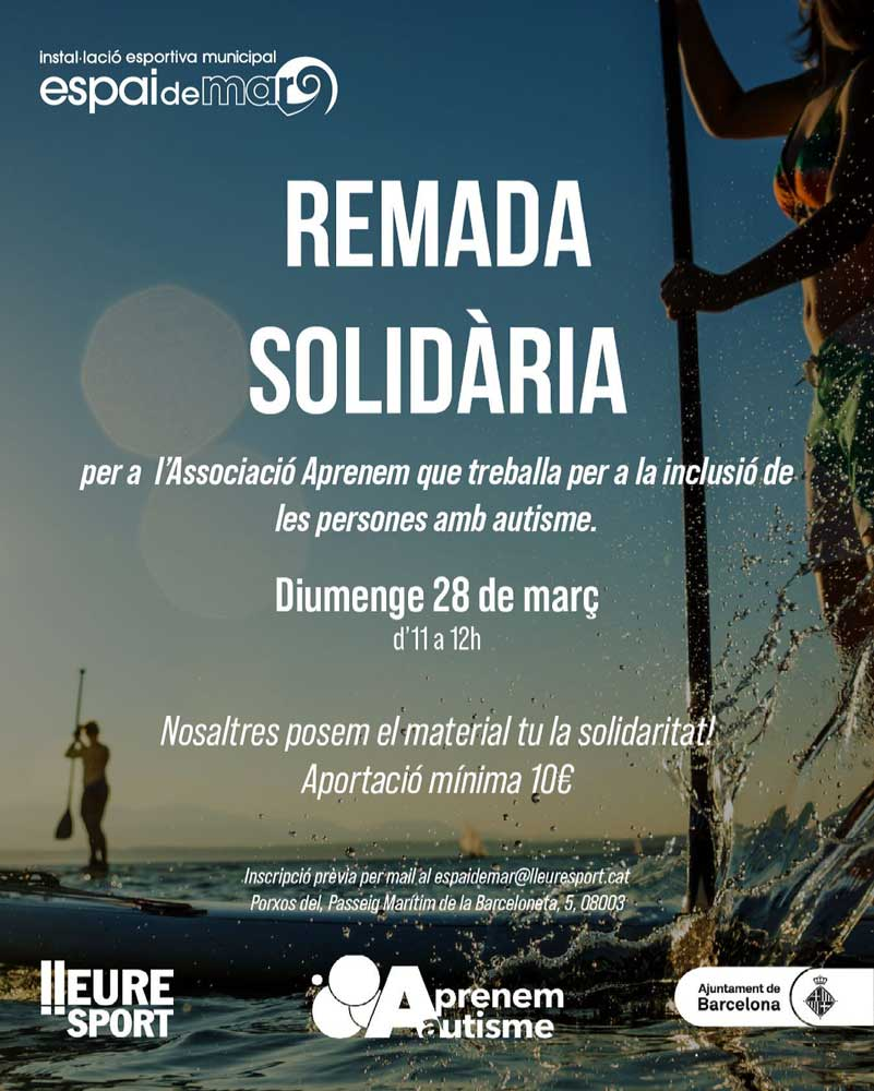 Cartel remada solidaria